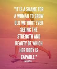 A woman's body is so capable