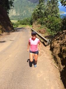 Waipio lookout run