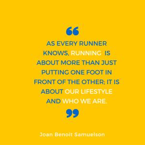 Joan Benoit Samuelson quote
