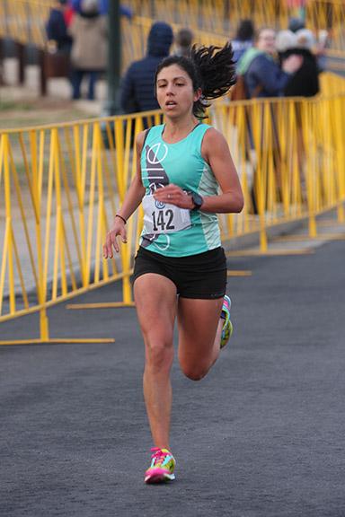 Cville ten miler finish